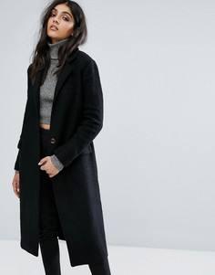 Пальто бойфренда Zibi London - Черный