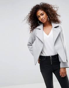 Байкерская куртка ASOS - Серый