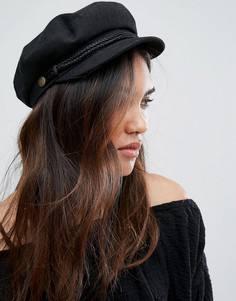 Черная кепка газетчика Brixton - Черный