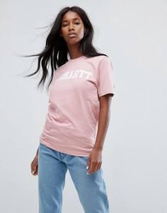 Оверсайз-футболка с логотипом Carhartt WIP - Розовый