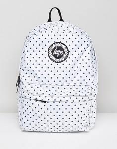 Двусторонний рюкзак в горошек Hype - Белый