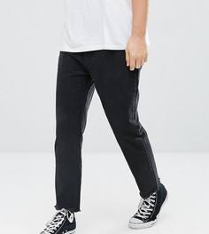 Черные укороченные суженные книзу джинсы Rollas Stubs - Черный