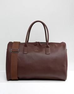 Бордовая сумка из искусственной кожи ASOS - Коричневый