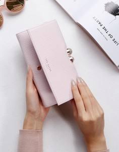 Кошелек с декоративной отделкой Ted Baker - Розовый