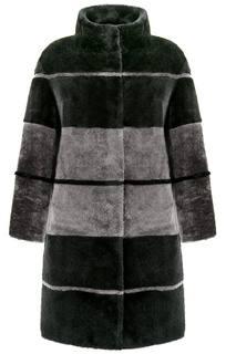 Шуба из овчины, утепленная синтепоном Virtuale Fur Collection