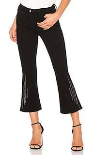 Укороченные джинсы клеш с заклепками cole - 3x1