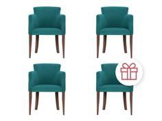 """Комплект из 4 стульев """"Aron"""" My Furnish"""