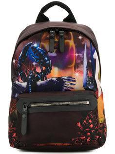 рюкзак с принтом Lanvin