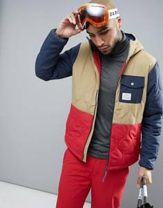 Утепленная горнолыжная куртка ONeill - Коричневый Oneill