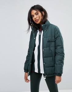 Дутая куртка с высоким воротом Ellesse - Зеленый