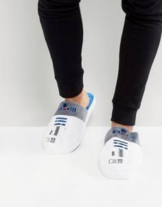 Слиперы Star Wars R2D2 - Белый Slipper