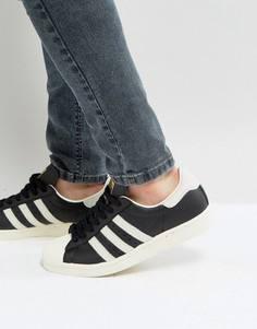 Черные кроссовки в стиле 80-х adidas Originals Superstar - Черный