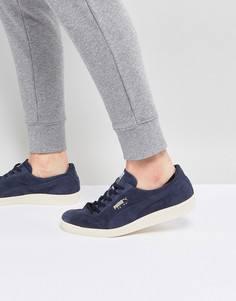 Темно-синие замшевые кроссовки Puma Te-ku 36499002 - Темно-синий