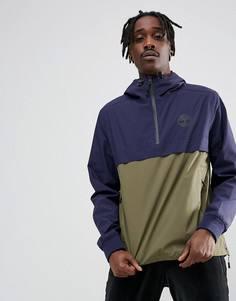 2-цветная куртка с капюшоном (зеленый/темно-синий) Timberland - Зеленый