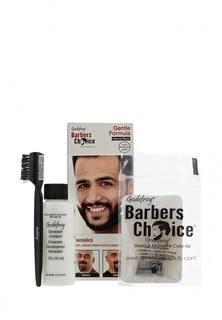 Краска для волос Godefroy бороды, набор (натурально-черный)