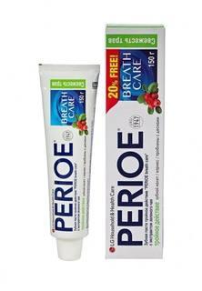 """Зубная паста Perioe тройное действие """"breath care"""" с экстрактом зеленого чая, 150 гр"""
