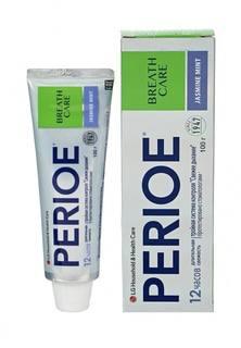 """Зубная паста Perioe с тройной системой контроля свежего дыхания """"breath care"""" жасмин и мята, 100 гр"""