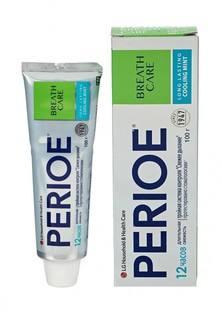 """Зубная паста Perioe с тройной системой контроля свежего дыхания """"breath care"""" охлаждающая мята, 100 гр"""