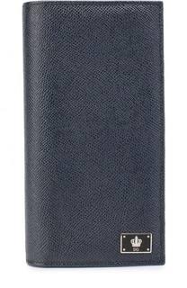 Кожаное портмоне с отделениями для кредитный карт Dolce & Gabbana