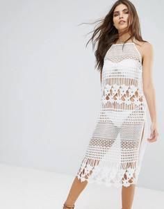 Женские платья белые кружевные – купить платье в интернет-магазине ... 4234d7835d5
