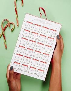 Новогодний календарь с украшениями Johnny Loves Rosie - Золотой