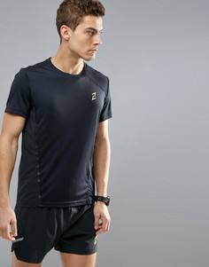 Черная спортивная футболка YOURTURN - Черный
