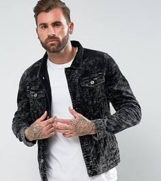 Вельветовая куртка Liquor N Poker - Черный