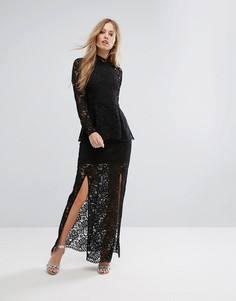 Кружевное платье Keepsake Star - Черный