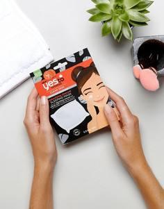 Маска для лица с углем и экстрактом помидоров для выведения токсинов Yes To - Бесцветный