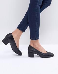 Туфли-лодочки на каблуке Selected - Черный