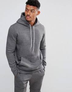 Худи серого меланжевого цвета New Look - Серый