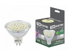 Лампочка TDM-Electric MR16 GU5.3 SMD 3W 12V 3000K SQ0340-0005