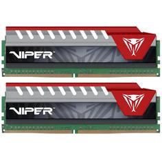 Модуль памяти Patriot Memory Viper Elite DDR4 DIMM 2800MHz PC4-22400 CL16 - 16Gb KIT (2x8Gb) PVE416G280C6KRD Red