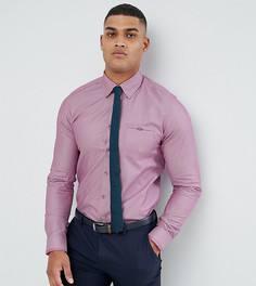 Строгая рубашка узкого кроя Ted Baker TALL - Розовый