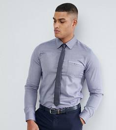 Строгая рубашка узкого кроя Ted Baker TALL - Темно-синий