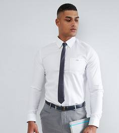 Строгая рубашка узкого кроя Ted Baker TALL - Белый