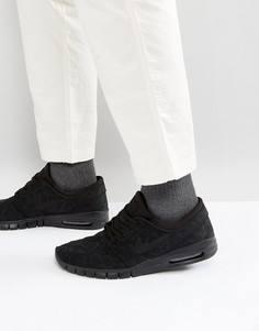 Черные кроссовки Nike SB Stefan Janoski Max 631303-099 - Черный