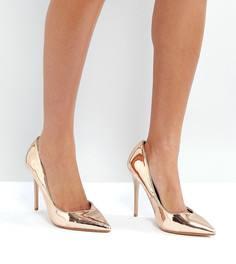 Туфли-лодочки на высоком каблуке Lost Ink - Золотой