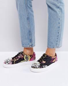 Декорированные кроссовки ASOS DREAM ON - Мульти