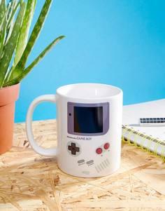 Кружка с меняющимся от тепла принтом Game Boy - Мульти Paladone