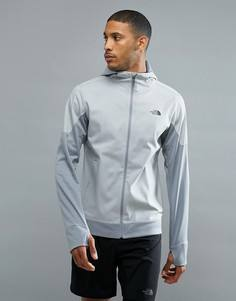 Серая меланжевая куртка The North Face Mountain Athletics Kilowatt Running - Серый
