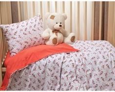 Комплект постельного белья Li-Ly «Микки» трикотаж 3 пр. красный Kupu Kupu