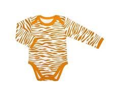 Боди длинный рукав детский «Тигрята» Barkito 2 шт., экрю с рисунком