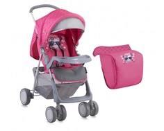 Коляска прогулочная Lorelli «Terra» Pink Kitty