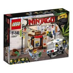 Конструктор LEGO Ninjago 70607 Ограбление киоска в Ninjago Сити