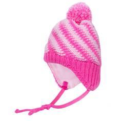 Шапка-ушанка для девочки Barkito розовый