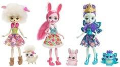 Куклы Enchantimals «Три подруги со зверюшками»