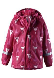 Плащ-дождевик для девочки Reima розовый