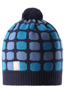 Шапка для мальчика Reima, синяя
