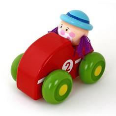 Машинка Mapacha «Клоун» красная